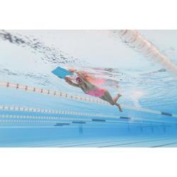 Maillot de natation fille une pièce Riana Eve corail