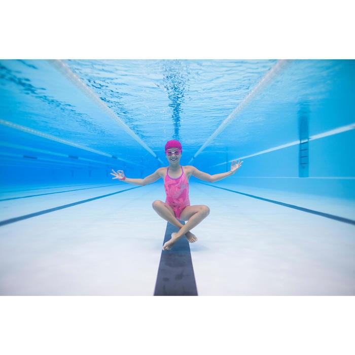 Badeanzug Riana Eve Mädchen koralle