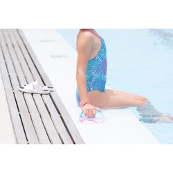 Badeanzug Riana Eve Mädchen blau