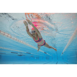 Maillot de natation fille deux pièces Riana Skirt Eve rose vert