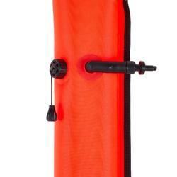 Dekompressionsboje mit Ventil SCD 900 orange