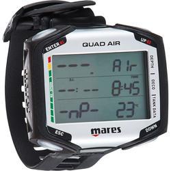 Ordenador Buceo Mares Quad Air Pantalla Grande Negro / Gris (Reloj)