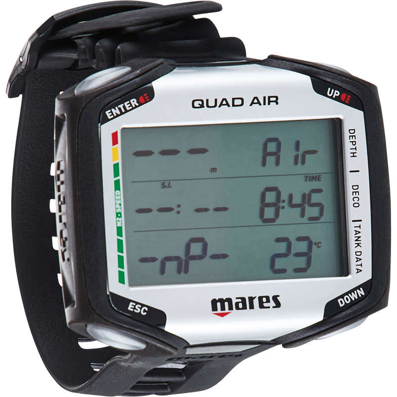 SCD GEAR & ACCESSORIES Scuba Diving - Mares QUAD Air computer MARES - Scuba Diving