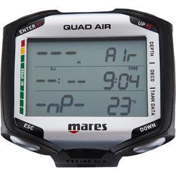 Tauch-Computer Quad Air schwarz/grau