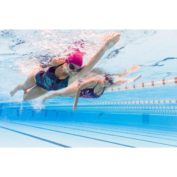 Maillot de bain de natation femme une pièce Riana Eve nero noir