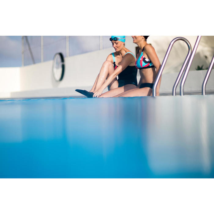 Sportbikini Oberteil Vega NBJ Damen rot/blau