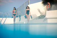 Taïs Women's One-Piece Swimsuit Geo Black