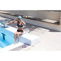 Haut de maillot de bain de natation femme Riana Eve nero noir