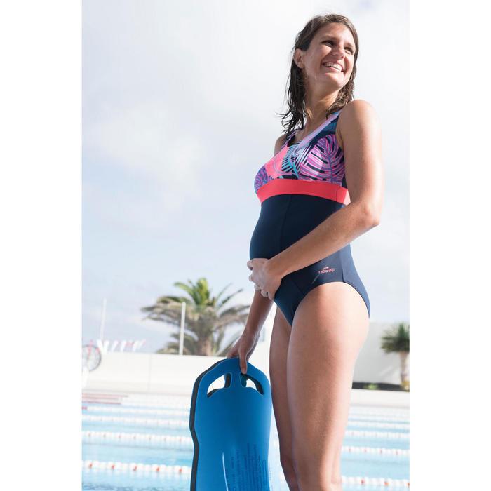 Maillot de bain de natation une pièce future maman Romane lif bleu