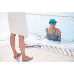 Bañador de natación mujer una pieza Loran tankini mipy negro