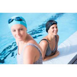 Maillot de bain gainant natation femme une pièce Kaipearl triki mipy noir