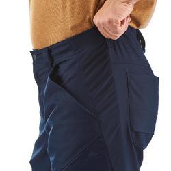男款長褲NH500 Reg-軍藍色