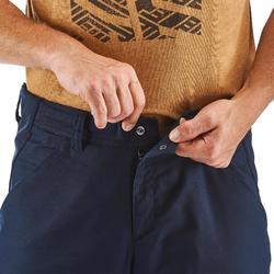 Pantalon de Montaña y Senderismo Quechua NH500 Hombre Azul