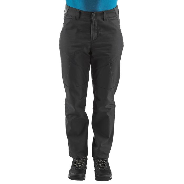Pantalon de Montaña y Senderismo Quechua NH500 Hombre Negro