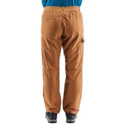 Pantalon randonnée nature NH100 noisette homme