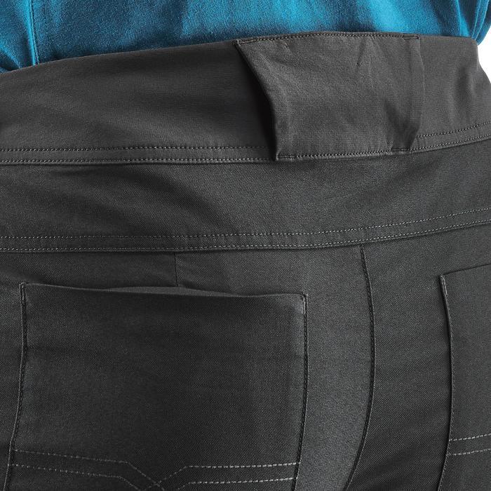 Pantalon randonnée nature NH500 regular gris foncé homme