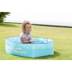 Piscinette pliable enfant TIDIPOOL imprimée avec sac de transport étanche