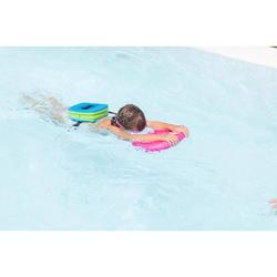 """Child's swimming board blue """"UNICORN"""" print"""