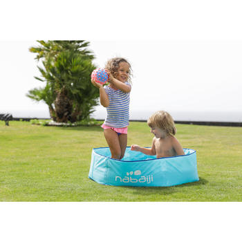 Zwembadje met print en waterdichte tas TIDIPOOL