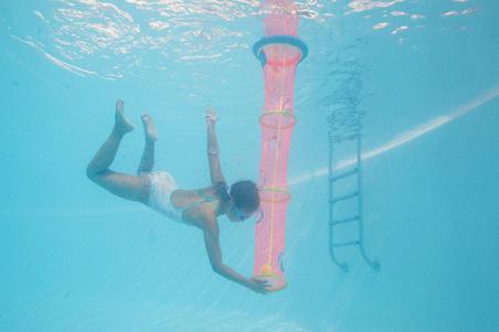 Jaring dan bola permainan kolam bawah air TIBALL