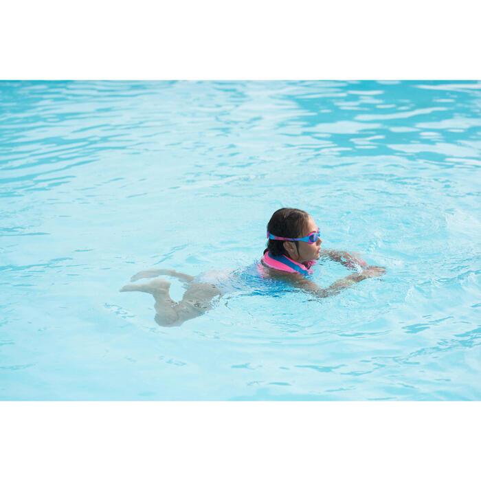 Zwemvest SWIMVEST+ blauw roze (25-35 kg)