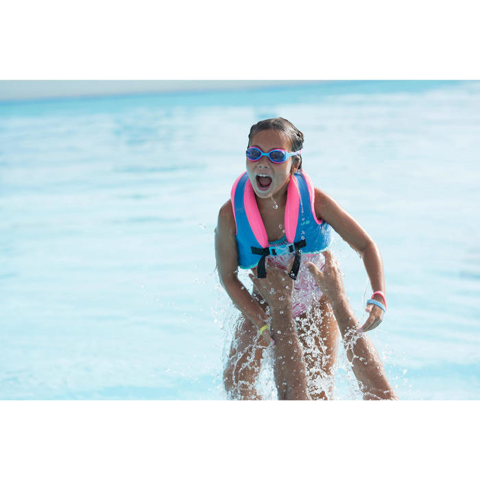 Chaleco Flotador Natación Nabaiji Morado/Rosa Espuma 25 a 35kg