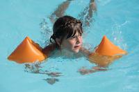 Manguitos de natación para niños - naranja