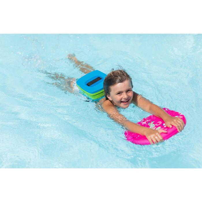 30-60 kg適用游泳腰帶搭配可拆式浮具,藍色綠色