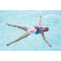 Gilet de natation SWIMVEST+ bleu-rose (25-35 kg)