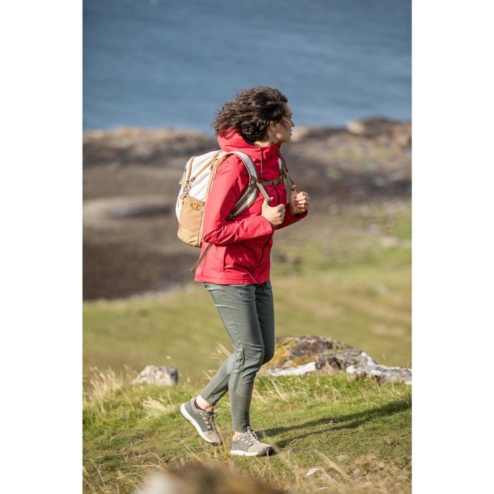 Wanderrucksack Naturwandern NH500 20 Liter beige