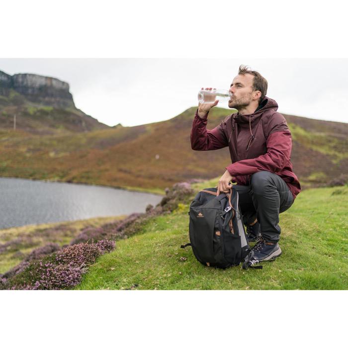 Rucksack Naturwandern NH100 20 Liter schwarz