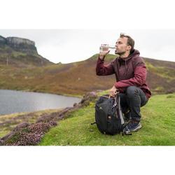 Wanderrucksack Naturwandern NH100 20 Liter schwarz