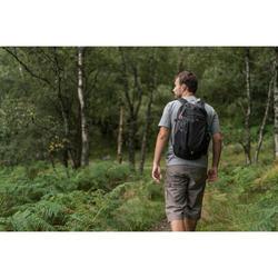 Tee shirt randonnée nature NH500 gris chiné homme