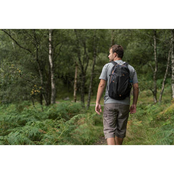 Wandershirt Naturwandern NH500 Herren grau meliert