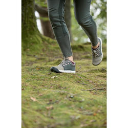 Wanderschuhe Naturwandern NH500 Damen beige/grau