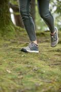 DÁMSKÉ BOTY NA NENÁROČNOU TURISTIKU Turistika - BOTY NH 500 KHAKI−BÉŽOVÉ QUECHUA - Turistická obuv