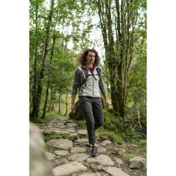 NH500 Regular Women's Country Walking Trousers - Grey