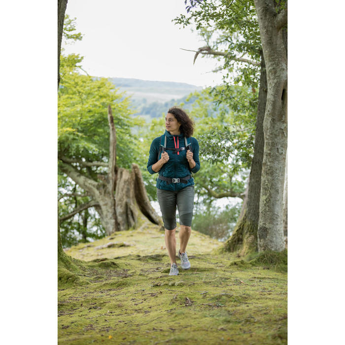 Kuitbroek wandelen in de natuur NH500 Fresh kaki dames