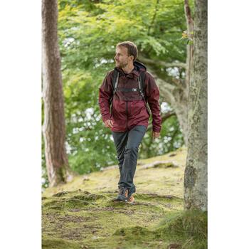 Wanderschuhe Naturwandern NH500 Herren braun/dunkelgrau