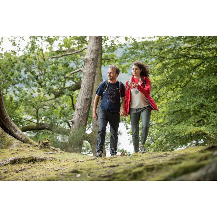 Wandershirt Naturwandern NH500 Herren marineblau