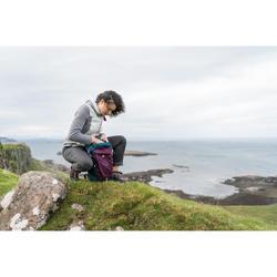 Wanderhose NH500 Regular Naturwandern Damen grau