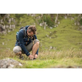 Wanderschuhe Naturwandern NH100 Fresh Herren dunkelblau