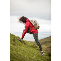 Wanderhose NH500 Fit Damen kaki für Naturwanderungen