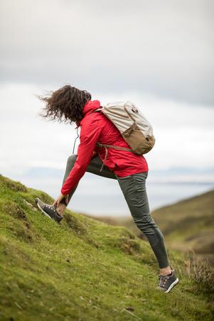 Wanderhose Naturwandern NH500 Damen Slim khaki