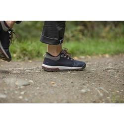Broek voor wandelen in de natuur NH500 regular grijs dames