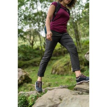 Chaussures de randonnée nature NH500 marine femme