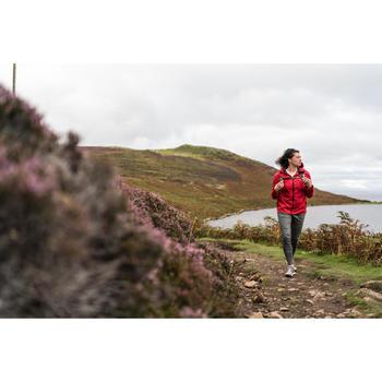 Regenjacke NH500 Damen rot für Naturwanderungen