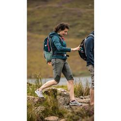 Mochila de Montaña y Senderismo Quechua NH100 30 Litros Turquesa