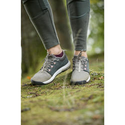 Wandelbroek NH500 Fit kaki dames