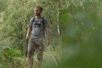 NH500 Men's Country Walking T-Shirt - Mottled Grey